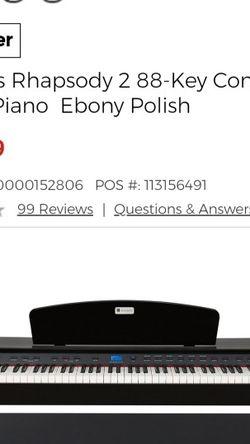 Williams 88keys Digital Piano. for Sale in Olympia,  WA