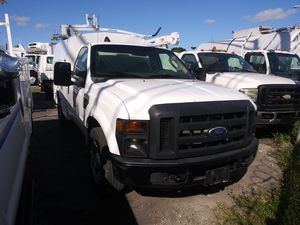 2008 ford f-350 utility truck ac cool automatic runs perfectly clean title for Sale in Miami, FL