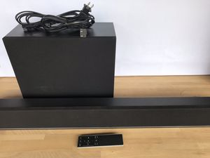 VIZIO 2.1 Soundbar System with Wireless Subwoofer for Sale in Lakewood, CA