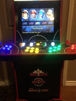 1up Arcade Nba Jam Over 8500 Games Installed for Sale in Fontana,  CA