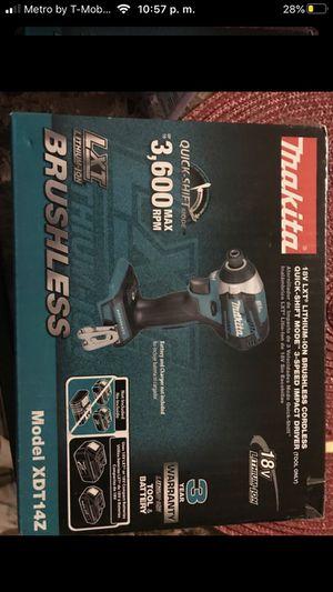 drill impact 18v brushless 3 speed for Sale in Phoenix, AZ