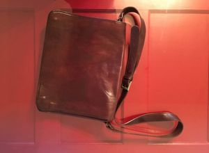 Genuine Italian leather Messenger Bag for Sale in San Diego, CA