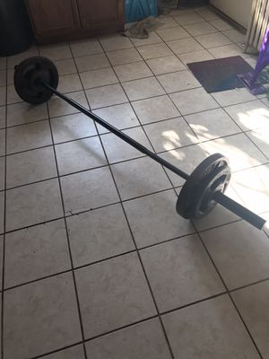 150 lb Olympic weight set for Sale in CORNWALL Borough, PA