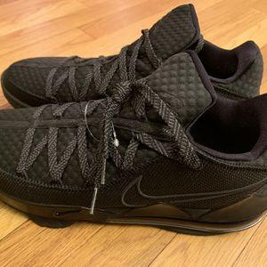 """Nike LeBron 17 Low """"Triple Black"""" Men's Size 12 Black/Black-Black CD5007 003 for Sale in Hamden, CT"""