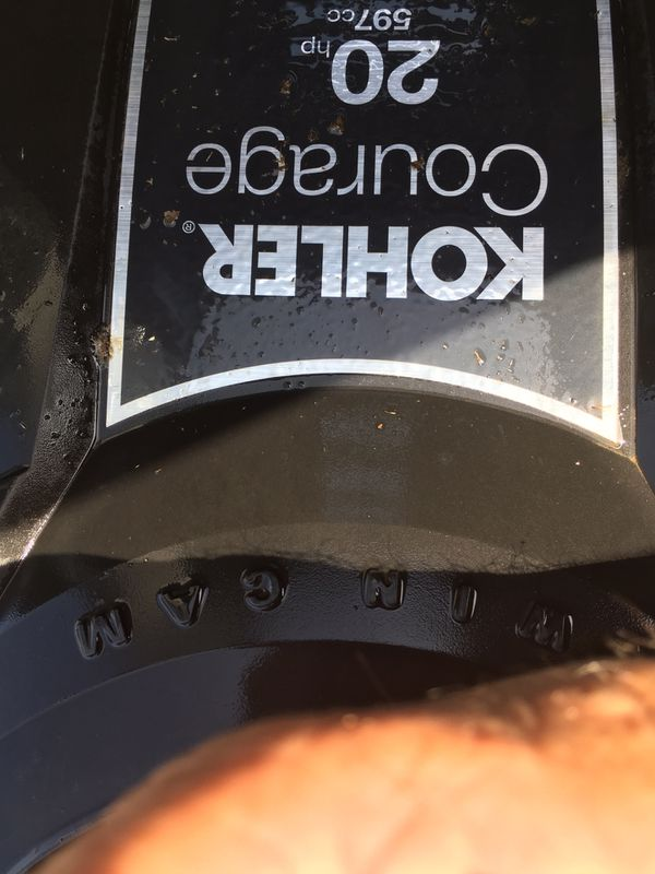 Troy Bilt Xp Riding Lawn Mower 20hp Kohler Engine 46 Deck