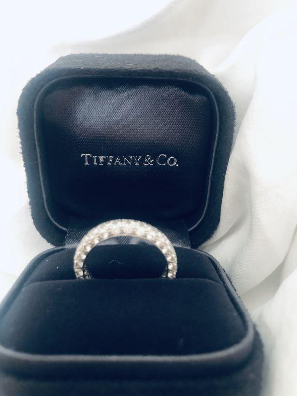 Tiffany & Co Eternity Band: 3-Row Pavé Etoile