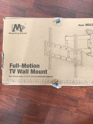 Full Motion Wall Mount 26-55 inch TVs for Sale in Nashville, TN