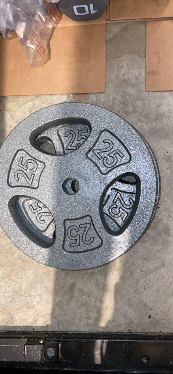 Read Description! Pick your Weights! 5lb/ 10 lb / 25 lb weight plates