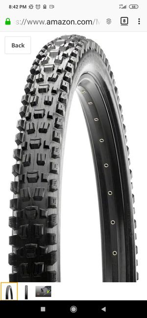 """Two MAXXIS ASSEGAI Tires 29 x 2.50"""" WT EXO 3C MaxxTerra Tubeless Wide Trail for Sale in New York, NY"""