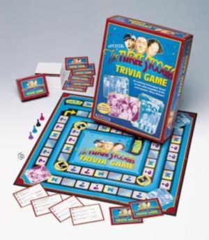 Three Stooges Trivia Board game Euc Put down the phones and talk,laugh and have FUN ...... for Sale in Brecksville, OH