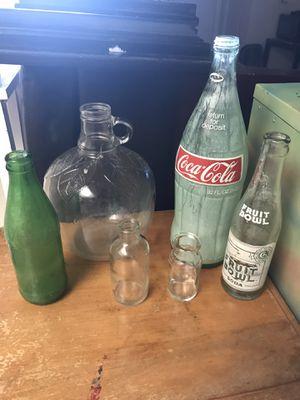 Antique Glass Bottles for Sale in Austin, TX