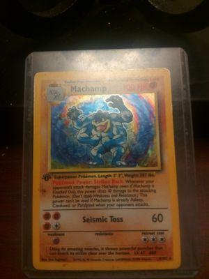 Machamp Pokemon Card (Kept In Case!) for Sale in Lake Zurich, IL