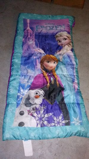 Frozen sleeping bag for Sale in Union Park, FL