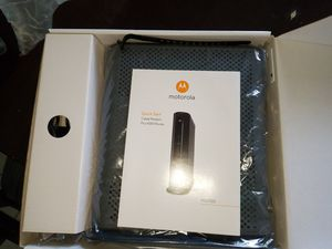 MOTOROLA CABLE MODEM ROUTER for Sale in Miramar, FL