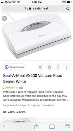 Vacuum food sealer for Sale in Dallas,  TX