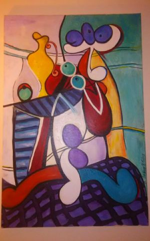 Inspired by piccasso art by shanon for Sale in Murfreesboro, TN