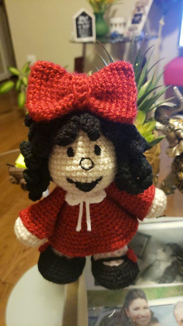 Mafalda - crochet