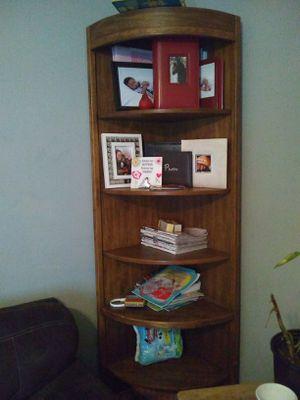 7 ft tall corner shelf for Sale in Nashville, TN