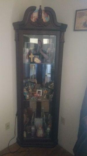 corner curio for Sale in Providence, RI