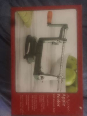 Apple Peeler with Vacuum Base for Sale in Lowell, MA