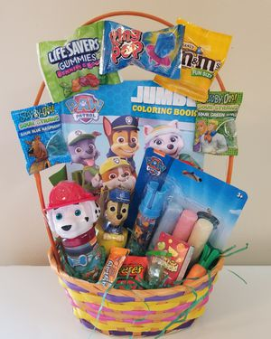 Boy's Paw Patrol Easter Basket. for Sale in Baltimore, MD