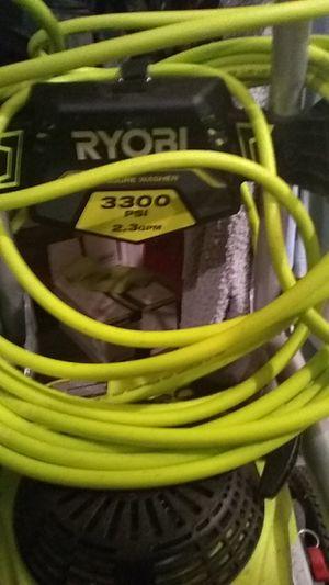 Ryobi pressure washer 3300 psi GVC 190 for Sale in PLEASURE RDGE, KY