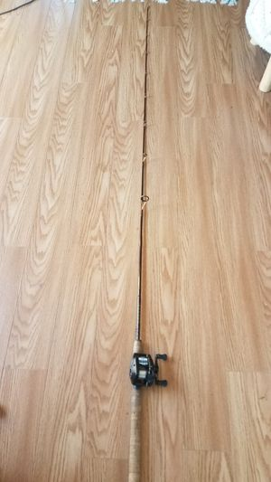 Fishing rod and reel for Sale in San Clemente, CA