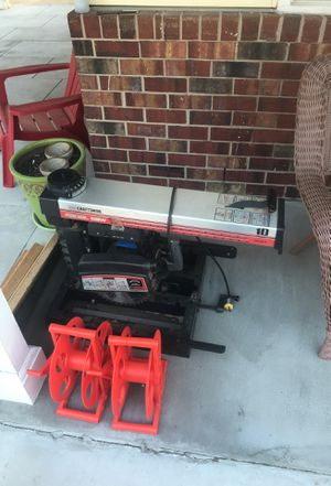 Craftsman radial table saw for Sale in Derwood, MD