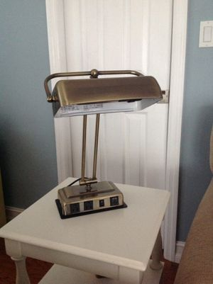 Brass Colored Desk Lamp for Sale in Plantation, FL