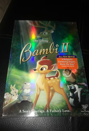 Bambi 2 DVD brand new for Sale in Corona, CA