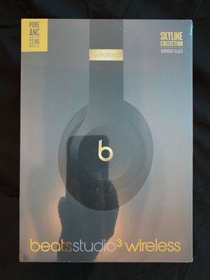 *brand new sealed* Beats studio3 wireless headphones black for Sale in Miami, FL