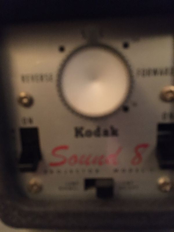 KODAK SUPER 8 SOUND PROJECTOR (MAKE OFFER)