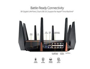 ASUS ROG GT-AC5300 Gaming router for Sale in Las Vegas, NV