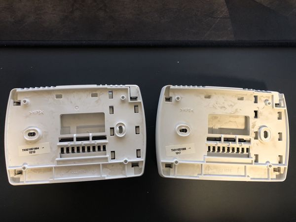 honeywell thermostat (2 units)