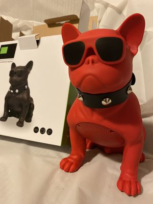Big cool red pug wireless speaker for Sale in Fontana, CA