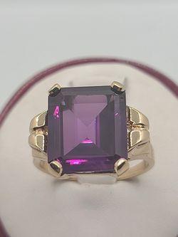 14k Gold Amethyst Ring for Sale in Burlington,  NJ