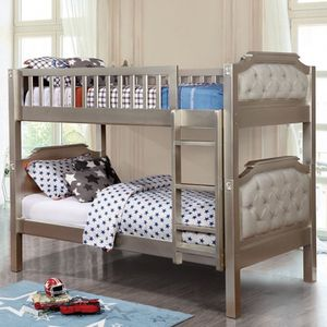 Twin /Twin bunk bed on sale @Elegant Furniture 🛋🎈🛏 for Sale in Fresno, CA