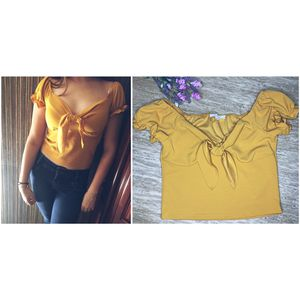 Yellow Top Blouse Size Medium for Sale in Huntington Park, CA
