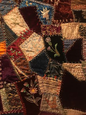 Vintage Stitching Quilt - Gorgeous for Sale in Downers Grove, IL