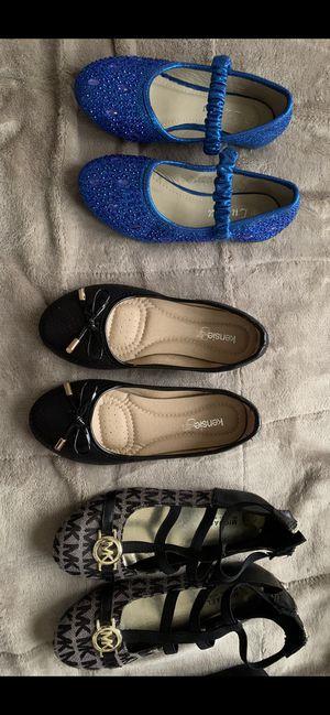 Little Girl Fancy Shoes Size 12 /13 for Sale in Hampton, VA
