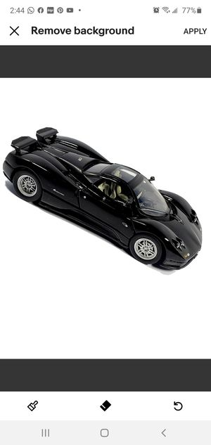 New Pagani Zonda C12, Black 1/24 Scale Diecast Model Toy Car Collectible. Free Shipping South Florida for Sale in Miami, FL