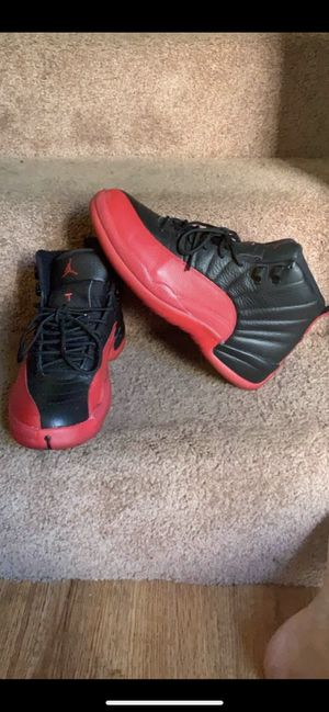Jordan 12 flu game size 9.5 (no trades? for Sale in Spring Valley, CA