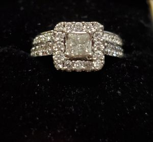 Diamond Wedding Ring and Band for Sale in Riverbank, CA