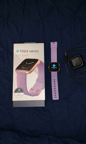 Used Fitbit Versa special edition for Sale in Boston, MA