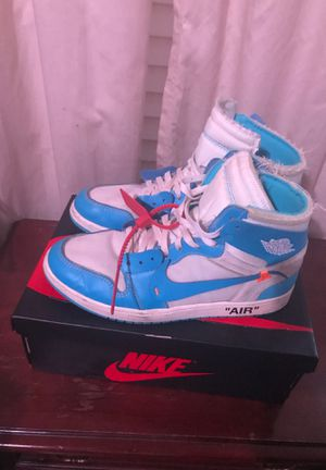 Off white Jordan 1 university blue for Sale in Buda, TX