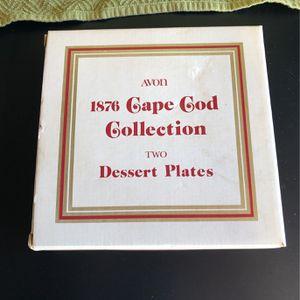 Avon 1876 Cape Cod Collection Desert Plates (2) for Sale in Manassas, VA