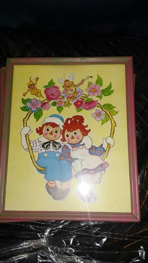 4 Raggedy Ann & Andy Pictures for Sale in Lilburn, GA