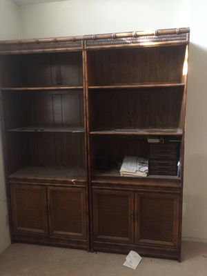 2 Living room bookshelves for Sale in Henderson, NV