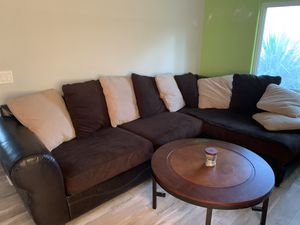 Ashley furniture couch , table and two end tables for Sale in Fort Myers, FL