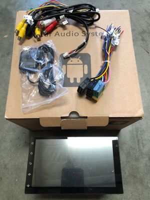 """7"""" 1080P HD 2DIN Bluetooth Touch Screen Car Stereo Radio MP5 with GPS Antenna for Sale in Hacienda Heights, CA"""